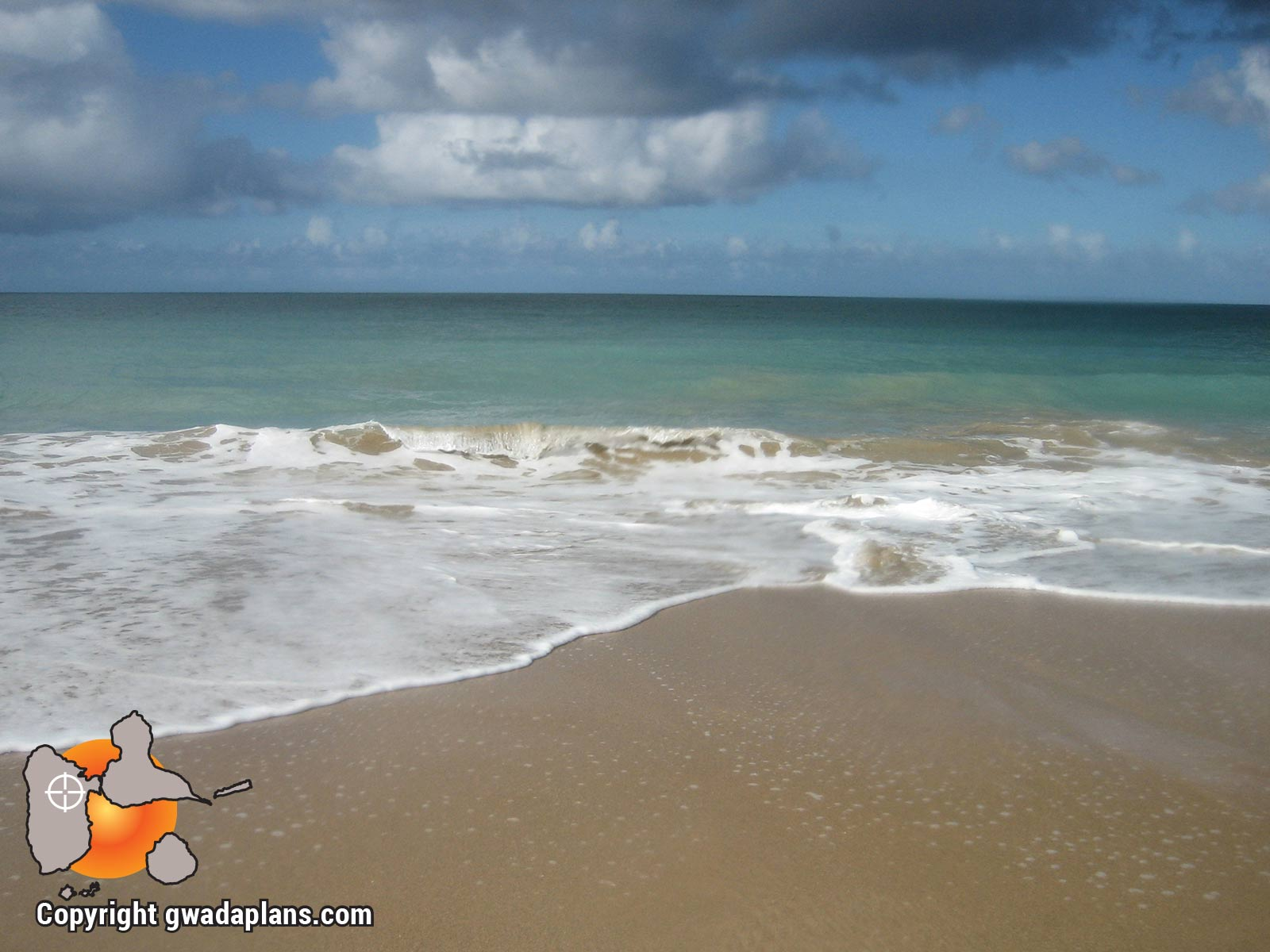 Surf Guadeloupe - Plage de Cluny