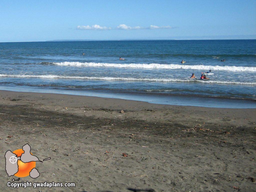 Surf Guadeloupe - Plage de Grande Anse