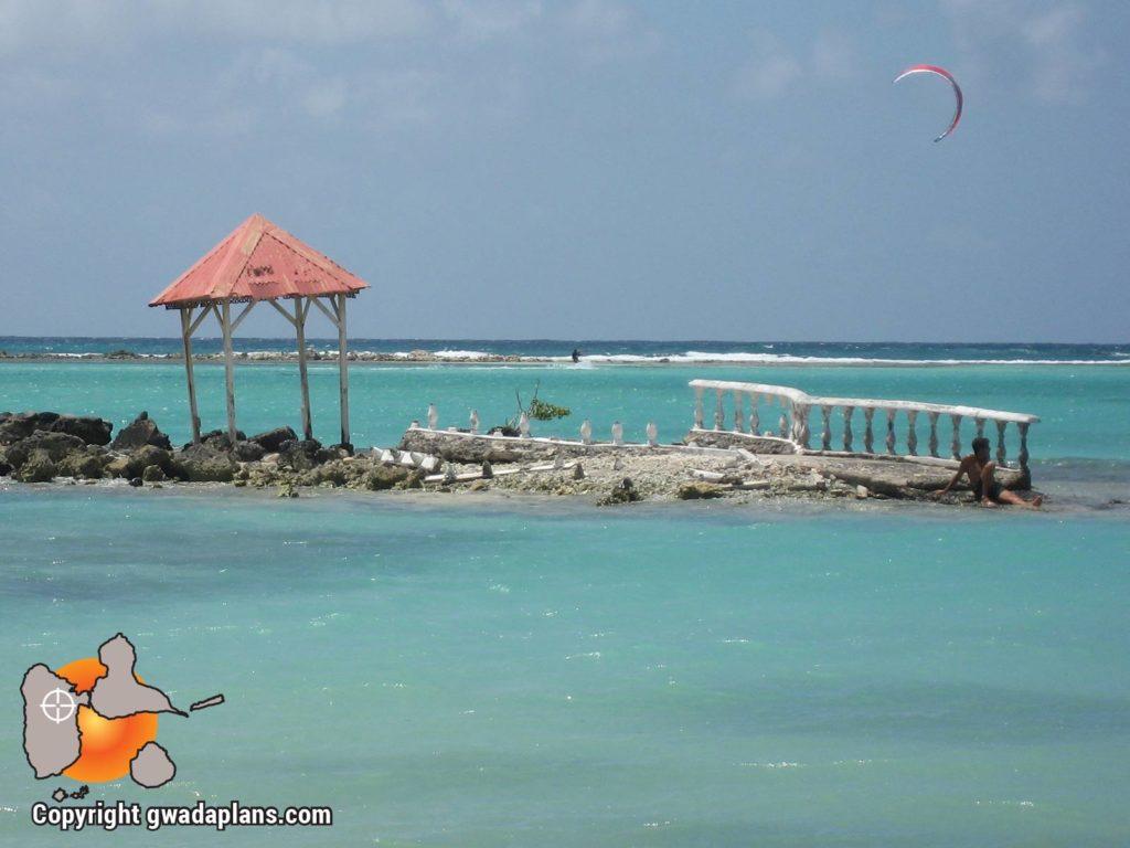 Surf Guadeloupe - lagon de Saint-François