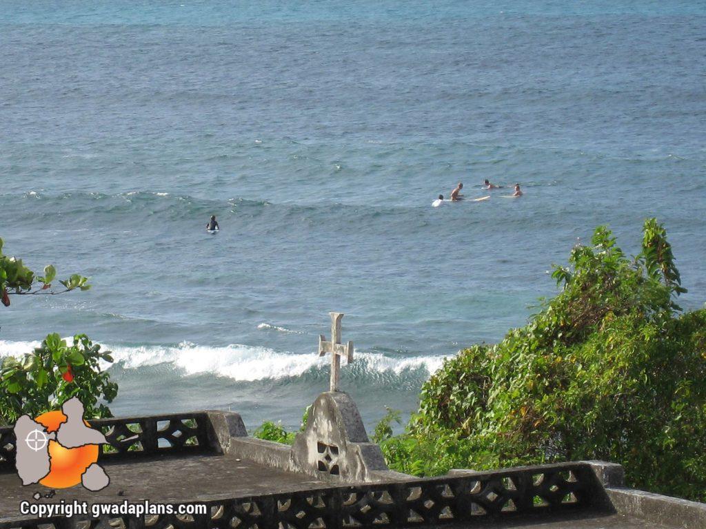 Surf Guadeloupe - Plage de la Chapelle