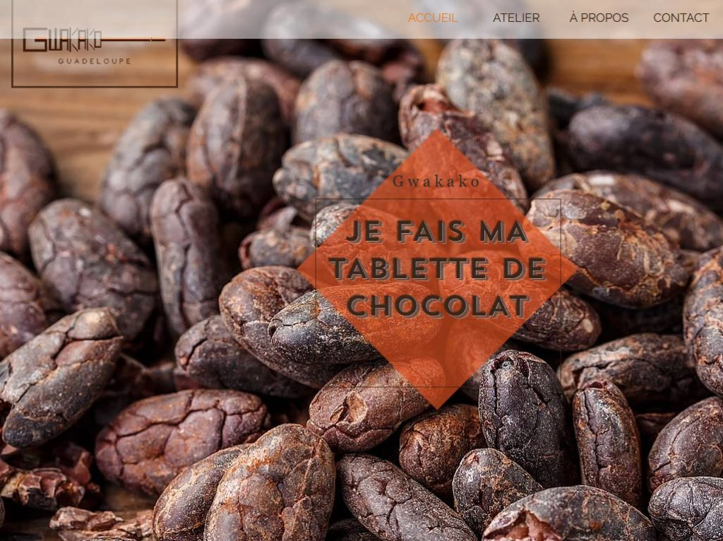 Gwakako - cacao en Guadeloupe