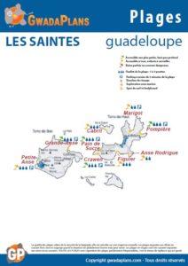 Télécharger la fiche plages de Les Saintes - Guadeloupe