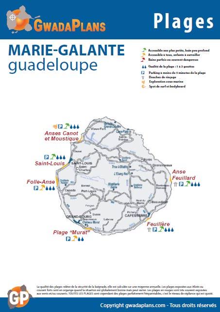 Télécharger la fiche plages de Marie-Galante - Guadeloupe