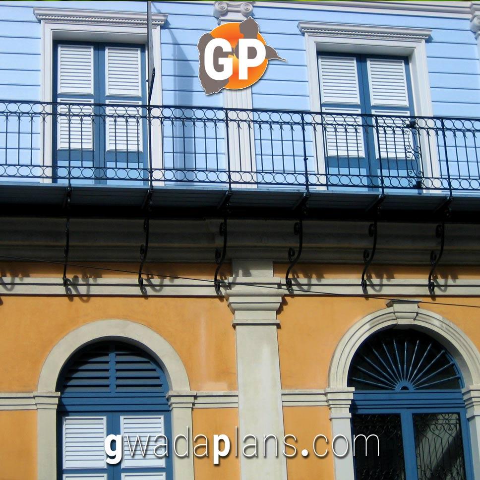 Façades Pointe à Pitre - Guadeloupe