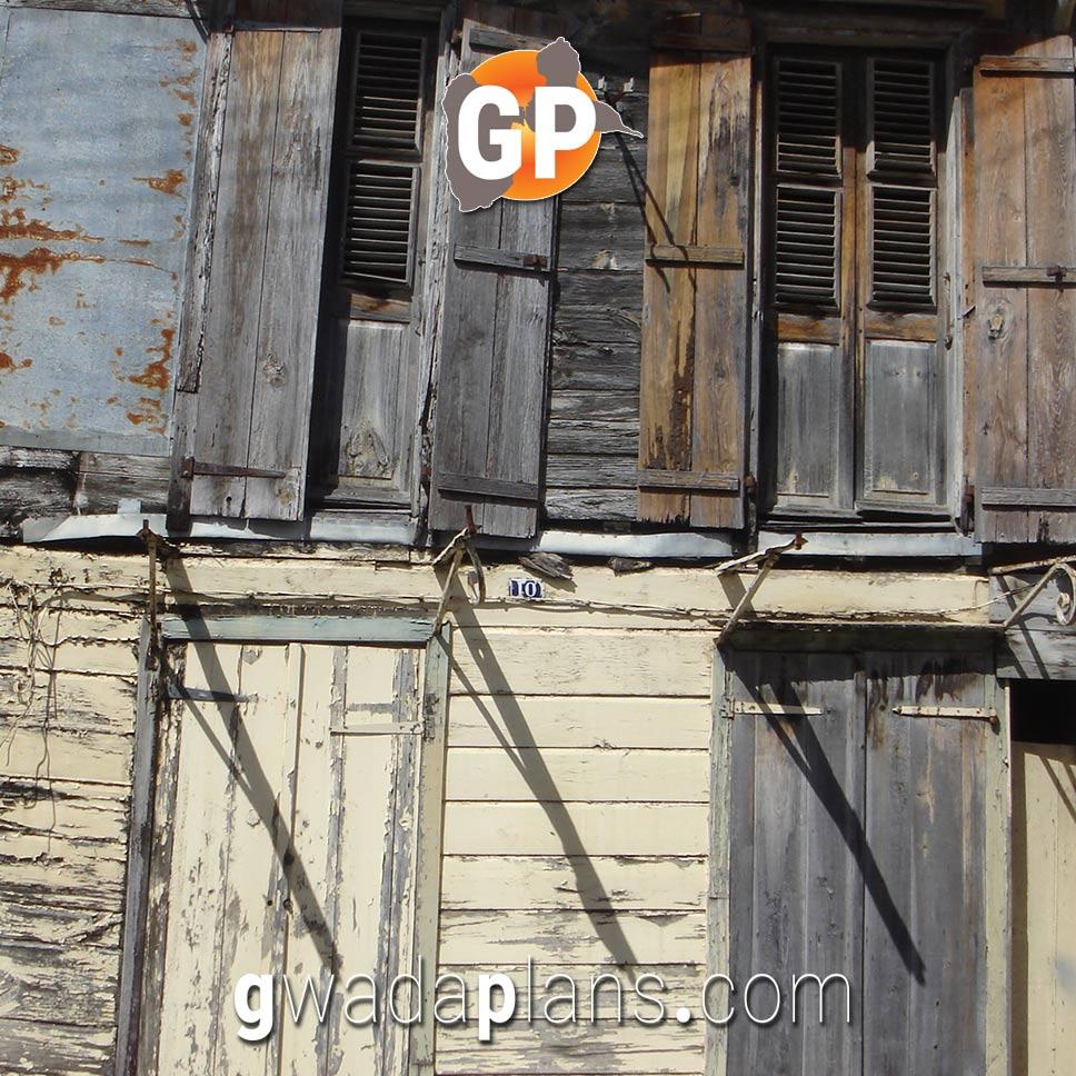 Case créole à double étage - Pointe à Pitre